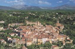 Village of Callian in Provence