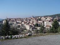 Village of Mons in Provence