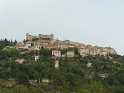 Village of Montauroux in Provence