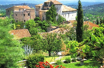 Village of Seillans in Provence
